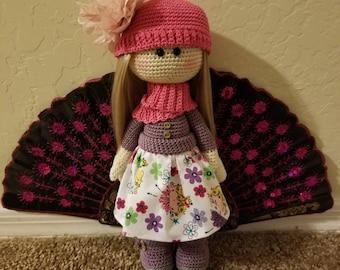 Rose, Crochet doll