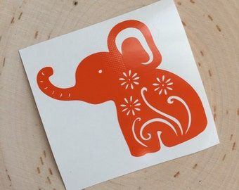 Vinyl Elephant Decal