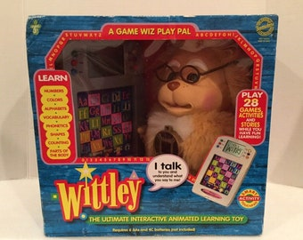 NEW Wittley the Ultimate Interactive Animated Learning Toy Game Wiz Play Pal