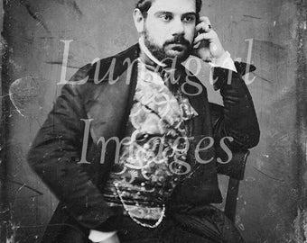 300 vintage images, DAGUERREOTYPES PHOTOS, Victorian portraits, vintage photographs MEN women, antique ephemera Gothic altered art, Download