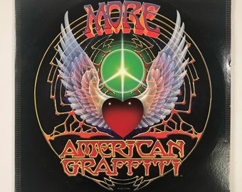 1979 More American Graffiti Original Motion Picture Soundtrack Vinyl Record Double LP Set MCA2-11006