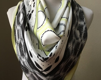 Satin silk scarf, edition 3