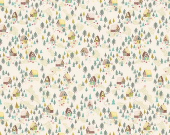 Cabin Forest Fabric