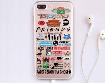 Friends TV Show Phone Case Google Pixel Case Google Pixel XL 2 Case Samsung S8 Case Samsung Galaxy S7 Case Samsung S9 Case Samsung CC1241