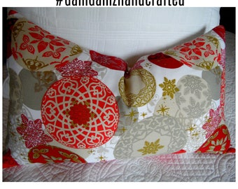 Holiday Pillows.Christmas Pillows.Slipcovers.Toss Pillows.Throw Pillows.