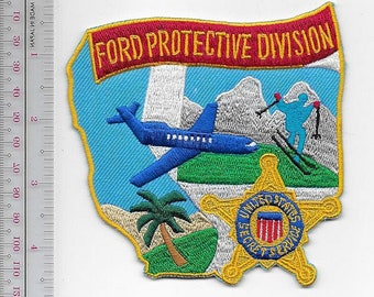 US Secret Service USSS President Gerald Ford Protective Division Agent Service Patch