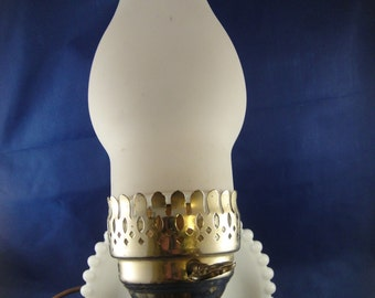 Milk Glass Hurricane Wall Light Frosted Glass Cover