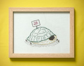 """Handmade embroidery > """"For rent"""" > Turtle shell"""