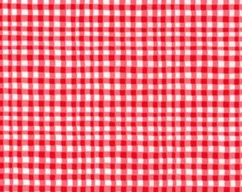 Michael Miller - Gingham Play in Cherry