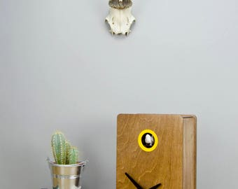 Quercus Nº2 Modern Cuckoo clock