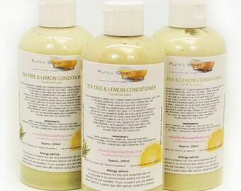 1 bottle Tea Tree & Lemon Hair Conditioner 250ml, for all hair types