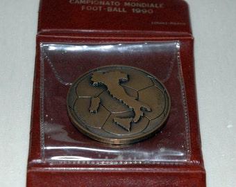 world championship medal foot-ball 1990-Bologna