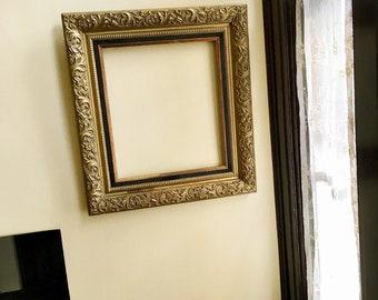 Frame Gold Wood Frame Vintage Picture Frame Gold Frame for Art Frame Old Frames Antique Frame Large Frame Mirror Frame Chalkboard Frame