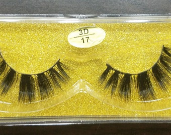 100% 3D real Mink Eye lashes Extensions #3D17