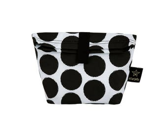 Dots Toddler Lunch bag, New collection  Kids Lunch bag, childrens Lunch bag ,Monochromatic bag