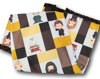 Harry Potter Baby Blanket, Harry Potter Baby Quilt, Harry Potter Quilt, Harry Potter Blanket, Harry Potter Nursery, Harry Potter Bedding