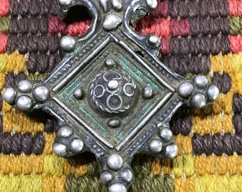 Antique Berber cross or boghdad