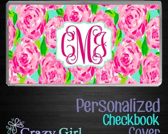 Personalized Checkbook Cover, Monogrammed Checkbook Cover, Design Your Own Pulitzer