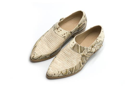 Handmade Leather Summer Leather Flats Loafers Shoes Shoes Leather Flat Shoes Shoes Women Shoes Beige f7qxc0zZUz