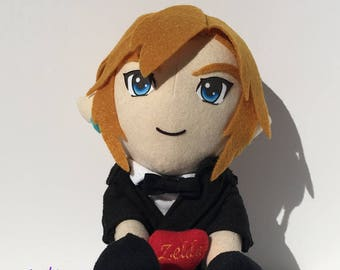 Custom Plush Heart and Tuxedo