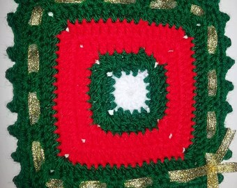 Support cup/crochet/hand made/mug of tea/cup of coffee/christmas gift