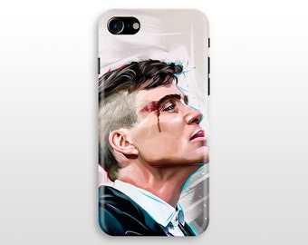 Peaky Blinders Tommy Shelby iPhone 8 case, iPhone X case iPhone 7 case iPhone 6 iPhone 7 plus iPhone 5 SE Galaxy S8 S7 S6 case Cilian Murphy