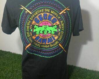 Rare!! Hot Sale!! Vintage Gecko Hawaii Tshirt Size Medium Very Good Condition Activewear