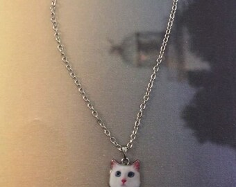 Necklace With Cat Photo