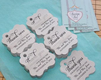 Thank You For Sharing Our Special Day, Rustic Wedding Favor Tag, Thank You Tags Favor Tags Favor Tag Thank yous Modern Wedding Favor