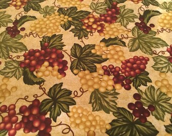 Toaster Oven Cover - Appliance cover - Grape Print