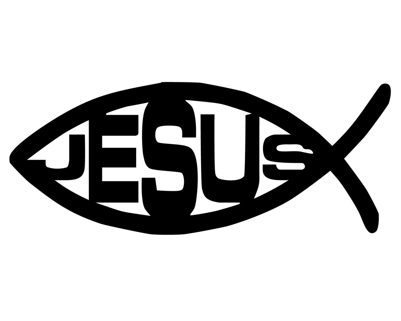 Jesus fish decal jesus fish sticker christian fish symbol zoom biocorpaavc