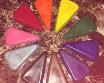 Color wheel crayons