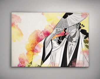 Bleach Anime Kyoraku Captain Print