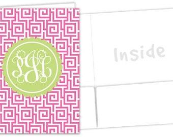 Personalized Pocket Folder - Sorority Folder
