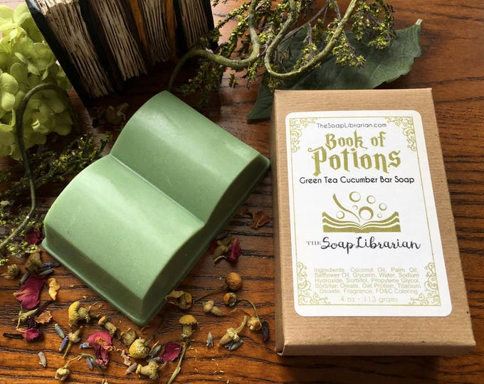 Featured listing image: Book of Potions Bar Soap