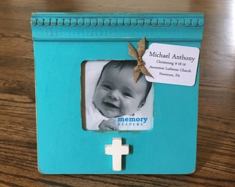 Personalized Frame Baby Gift Baby Shower Birth Baptism Christening Naming Gift Present for Boy