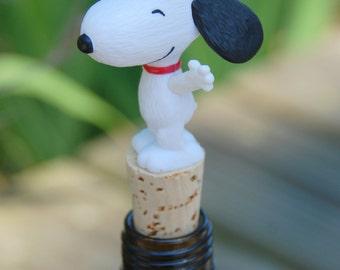 Snoopy Wine Bottle Stopper