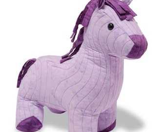 Horse Sewing Pattern, PDF format