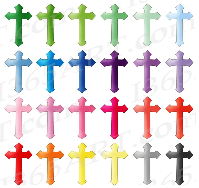 50 off cross clipart cross clip art crucifix christian cross rh etsystudio com clipart of crosses and flowers clipart of cross and bible