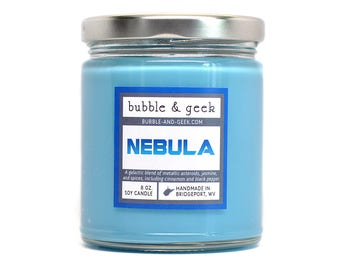 Nebula Scented Soy Candle