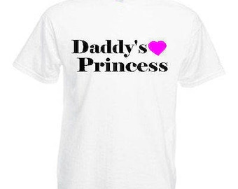 Daddy's princess adults mens t shirt 12 colours  size s - 3xl