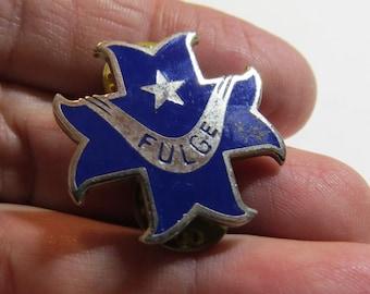 Original Vintage 83rd US Army DI Distinctive Unit Crest or Badge or Pin Fulge