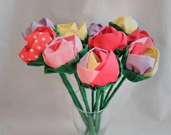 textile flowers, fabric roses, textile roses, flower decoration notes, roses decoration