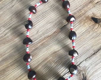 Regular-Buckeye Necklace