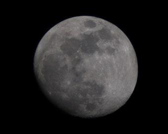 Digital Print of The Moon