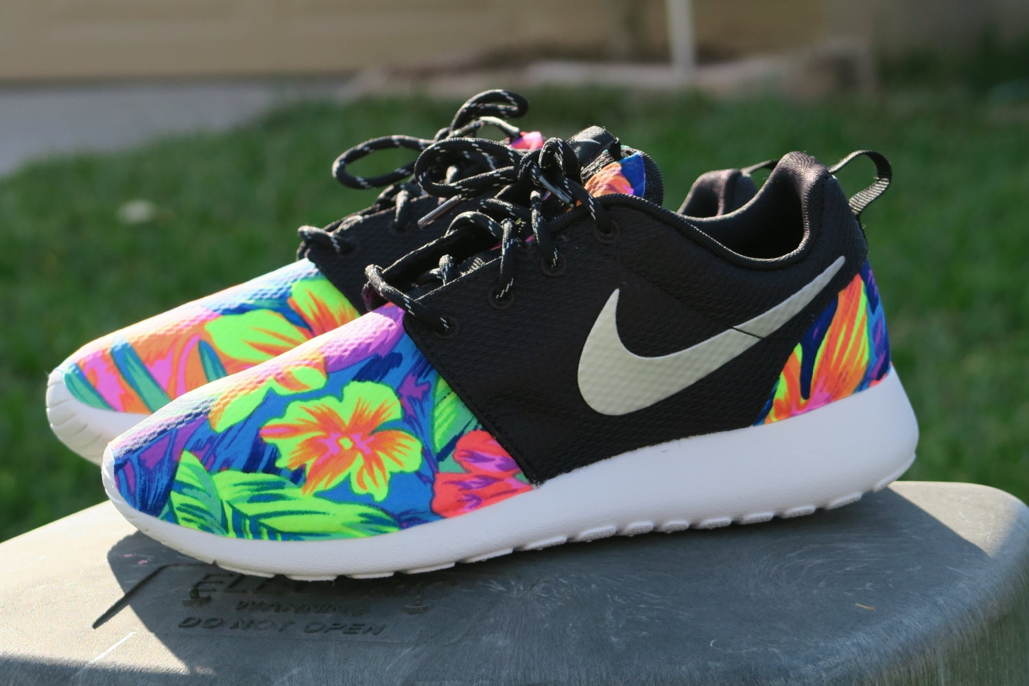nike womens roshes custom for sale