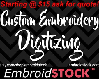 Custom Digitizing Services | Machine Embroidery Designs