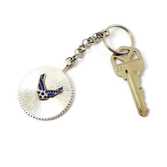 Us Air Force Symbol Key Chain Mom Wife Fiance Girlfriend