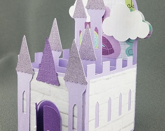 Handmade Princess Castle Purple