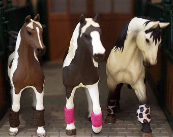 Schleich Polo Wraps! 74 colors! Listing #1!